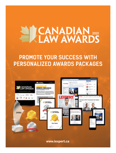 Canadian Law Awards 2021 - Promo Package