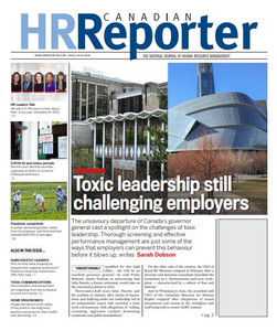 2021 Canadian HR Reporter 34.03 (available for immediate download)