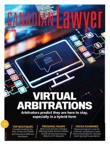 2021 Canadian Lawyer 45.02 (available for immediate download)