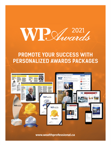 Wealth Professional Awards 2021 - Promo Package