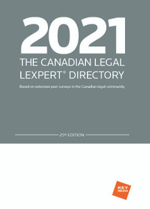 2021 The Canadian Legal Lexpert Directory