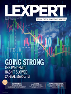 2021 Lexpert Special Edition on Finance and M&A (available for immediate download)