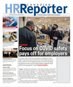 2021 Canadian HR Reporter 34.05 (available for immediate download)