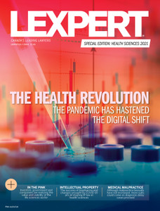 2021 Lexpert Special Edition on Health Sciences (available for immediate download)
