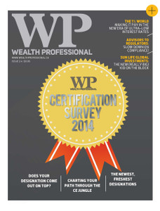 2014 Wealth Professional August issue (available for immediate download)