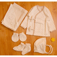 Newborn Set (Heart Pattern) -NYB-08 ( Set of 5 )