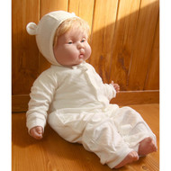 Ivory - Jump Suit, Ear Cap