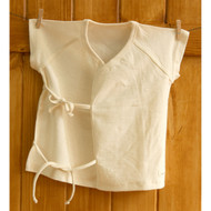 Short Sleeve Baby Kimonos (Natural Beige)