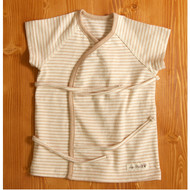 Short Sleeve Baby Kimono (Stripe)