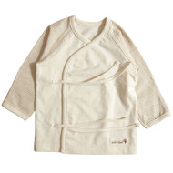 Long Sleeve Baby Kimonos Cream Beige Brown Olive Sleeve