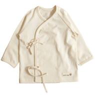 Long Sleeve Baby Kimono (Basic Cream Beige)