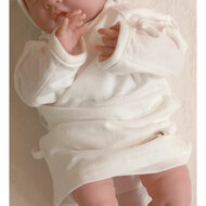 Long Sleeve Baby Kimono (Basic Ivory)