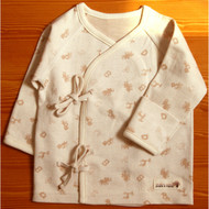 Long Sleeve Baby Kimono (Animal Friends )