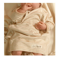 Long Sleeve Baby Kimono ( Brown Stripe )