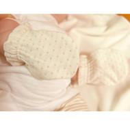 Baby Glove ( Dot Pattern Jacquard)