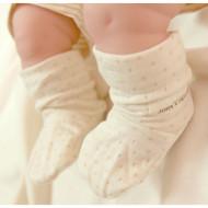 Baby Bootie ( Dot Pattern Jacquard)