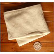 Baby Blanket ( 39 * 51 inches ) Terry Cream Beige