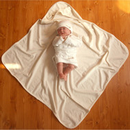 Baby Blanket (28.7 * 28.7 inches ) Basic Cream Beige