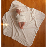 Baby Blanket (28.7 * 28.7 inches ) Basic Ivory