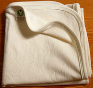 Baby Blanket (28.7 * 28.7 inches ) Basic Jacquard Cream Beige