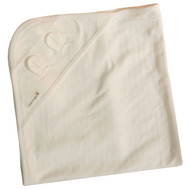 Blanket (28.7 * 28.7 inches ) Jacquard Y Ivory