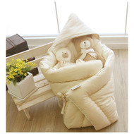 Baby Wrapper- Blanket < Cream Beige >