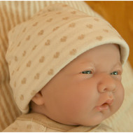Baby Cap ( Heart Pattern Jacquard )