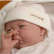 Baby Cap (Jacquard Y Ivory )