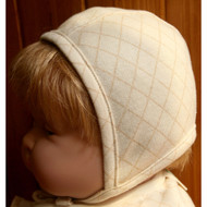 Baby Racer Cap  (Check Pattern Jacquard)