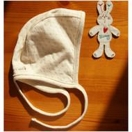 Baby Racer Cap (Dot Pattern Jacquard)