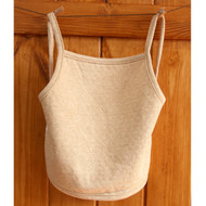 Apron Bib ( Jacquard Milk Brown)