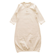 Infant Sacque ( Dot Pattern Jacquard)