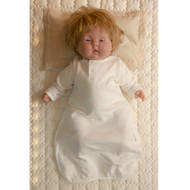Infant Sacque  (Jacquard Y Ivory )
