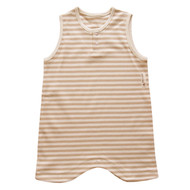 Sleeping Vest  ( Stripe Jacquard)
