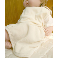 Sleeping Vest  ( Cream Beige Velour )