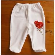 Footie Pants ( Jacquard Y Ivory )