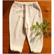Footie Pants ( Dot Pattern Jacquard)