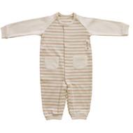2 Pocket Basic Jumpsuit  ( Cream Beige Brown Olive )