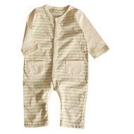 2 Pocket Jumpsuit ( S-5m Olive Stripe)