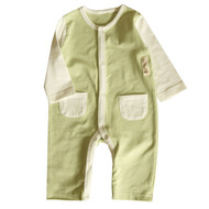 2 Pocket Jumpsuit (S-GOTS Olive)