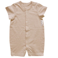 Shortsleeve Jumpsuit ( Milky  Brown)