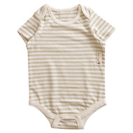 Short sleeve Bodysuit (Olive Stripe)