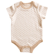 Short sleeve Bodysuit ( Heart Pattern Jacquard)