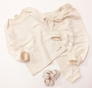 Basic Top / Pants ( Milk Brown)