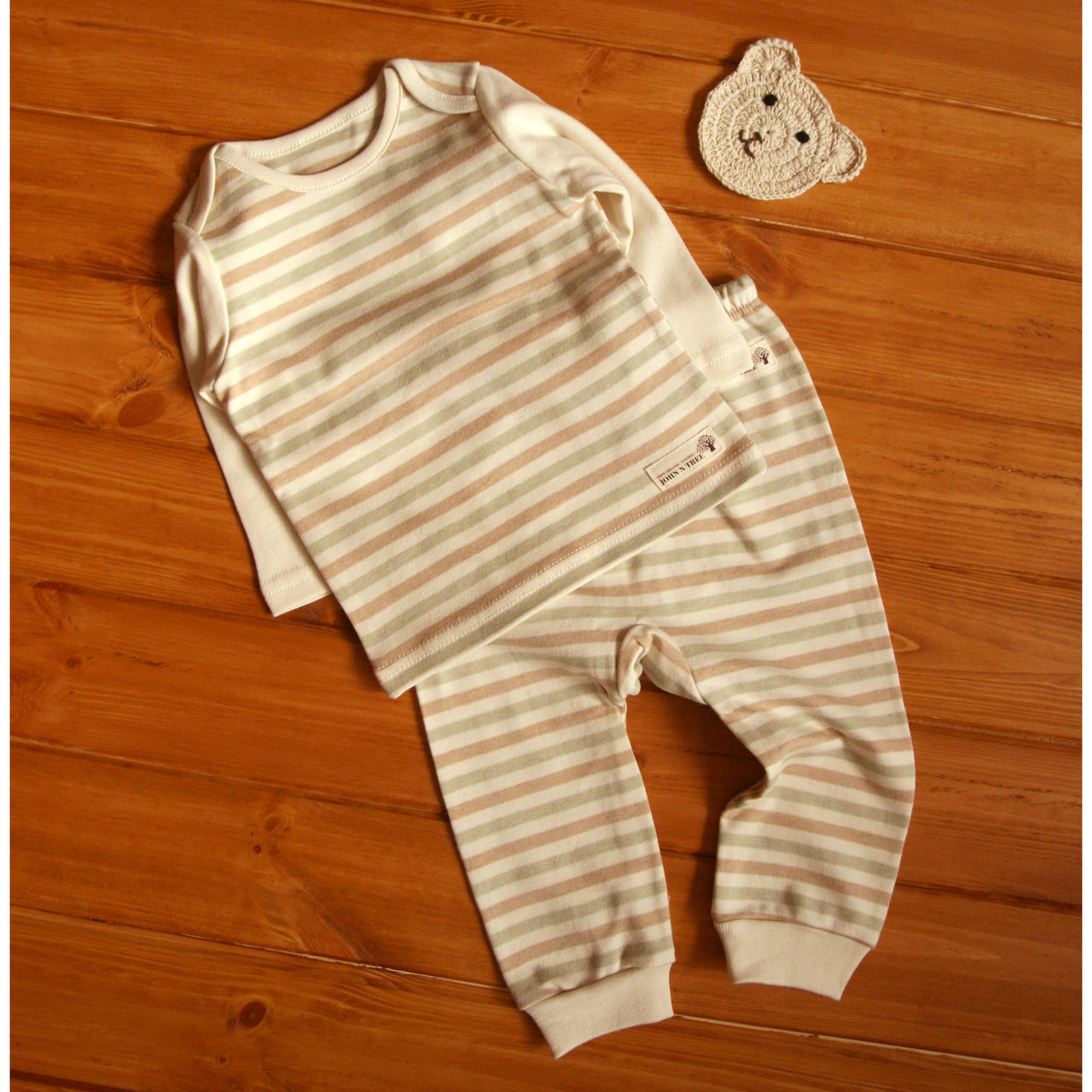 Naturecolored baby Pants