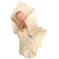 Organic Baby Bath Towel  ( 33 * 33 inches)