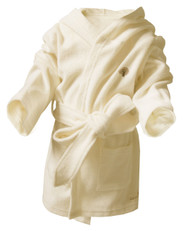 Baby Bathgown ( Terry Beige Fabric)