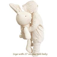 Big Mama Rabbit Buddy        (26.3 inches )