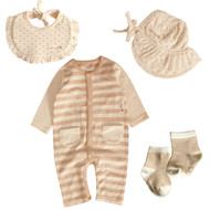 Milk brown Set ( 4 pack )