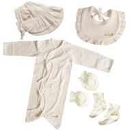 Pure Ivory Baby shower Set ( 5 pack )